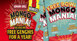 Genghis Grill Mongo Mania Sweepstakes – Free Meal For A year