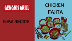 Genghis Grill's Chicken Fajita
