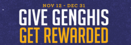 Give Genghis Get Rewarded