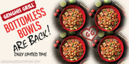 Genghis Grill Bottomless Bowls Are Back