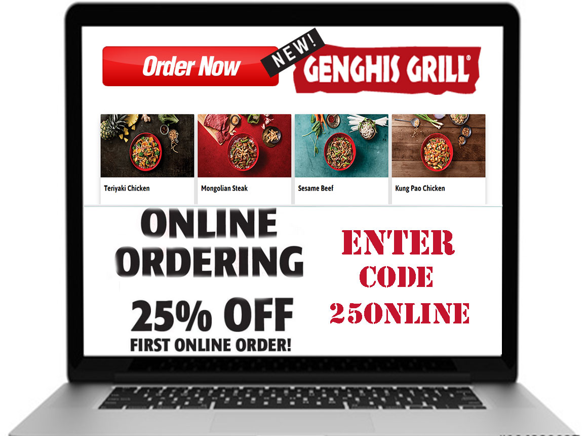 picture regarding Genghis Grill Printable Coupon named Genghis Grill Discount codes: Purchase up in direction of % 20 Off September 2019