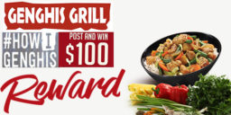 photograph about Genghis Grill Printable Coupon known as Genghis Grill Coupon codes: Receive up in the direction of % 20 Off September 2019