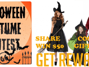 Genghis Grill Halloween Contest – Win a $50 Gift Card